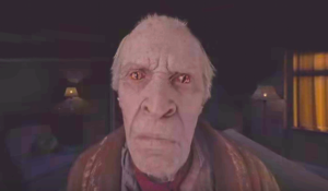 Scary old man